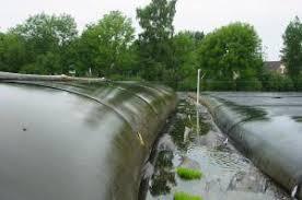 Geocilindros - desidratação de lamas e contenção de inertes