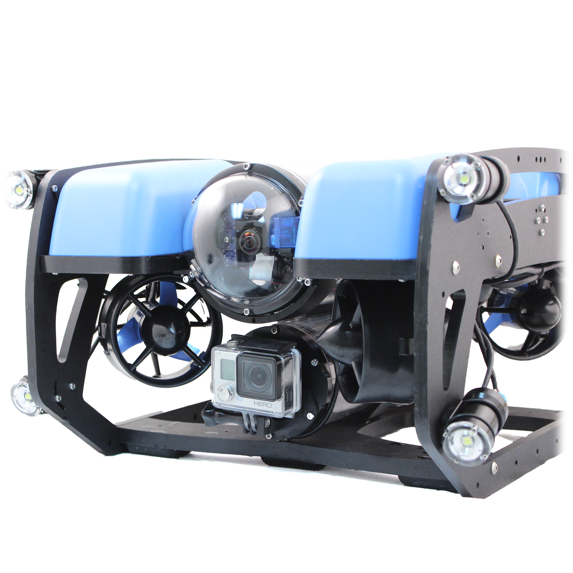 Inspeções subaquáticas – ROV (Remotely Operated Vehicle)